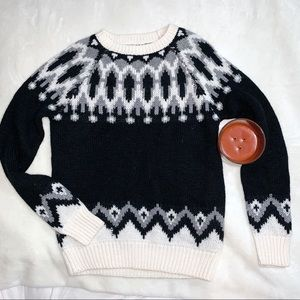 Cozy forever 21 winter pullover sweater